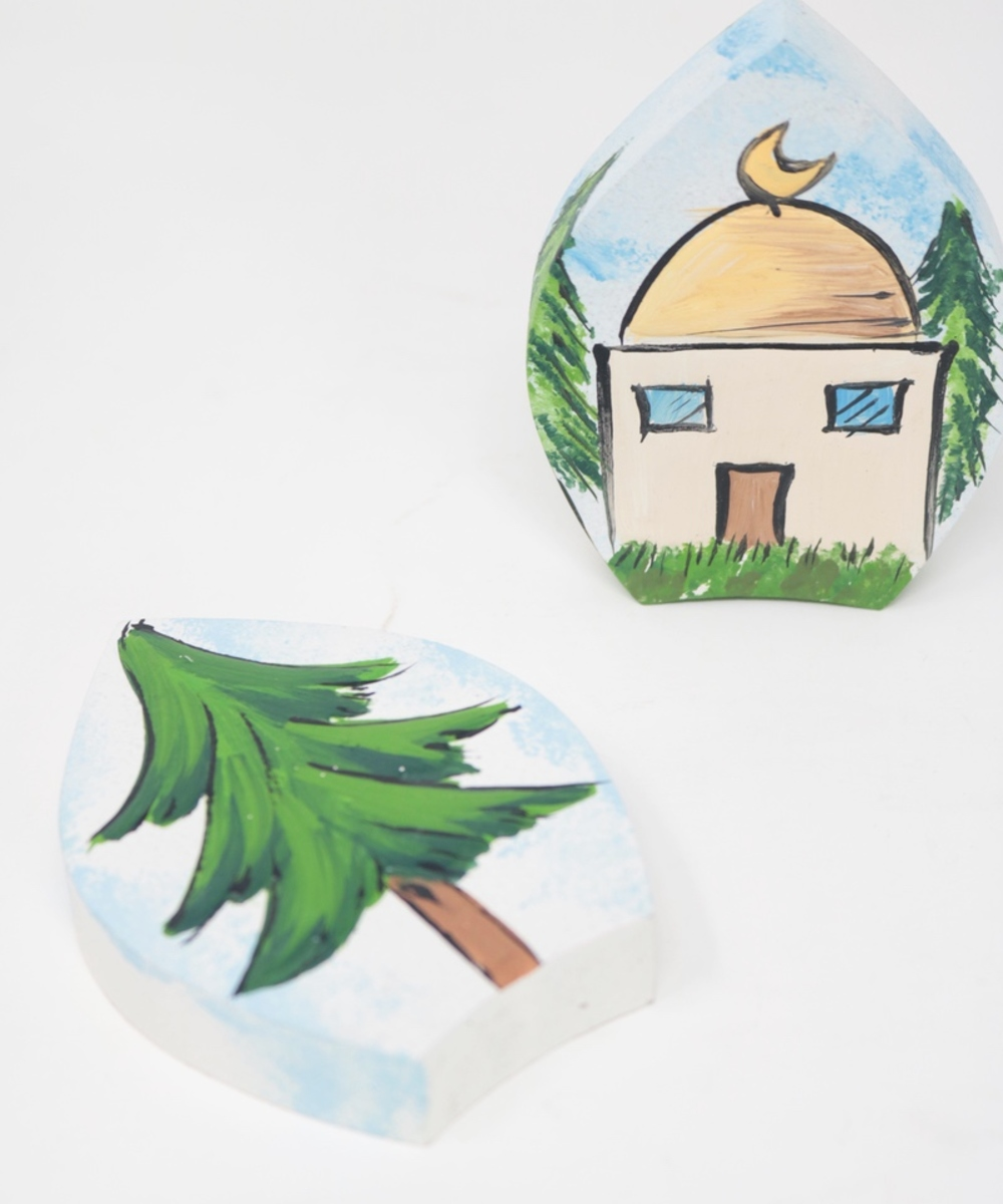 Mosque and Tree Decorations