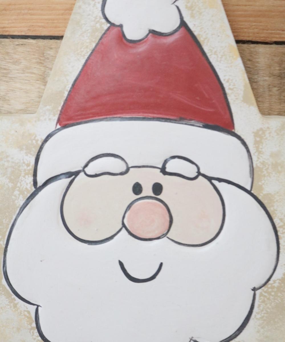 Star-Shaped Santa Wall Hanging