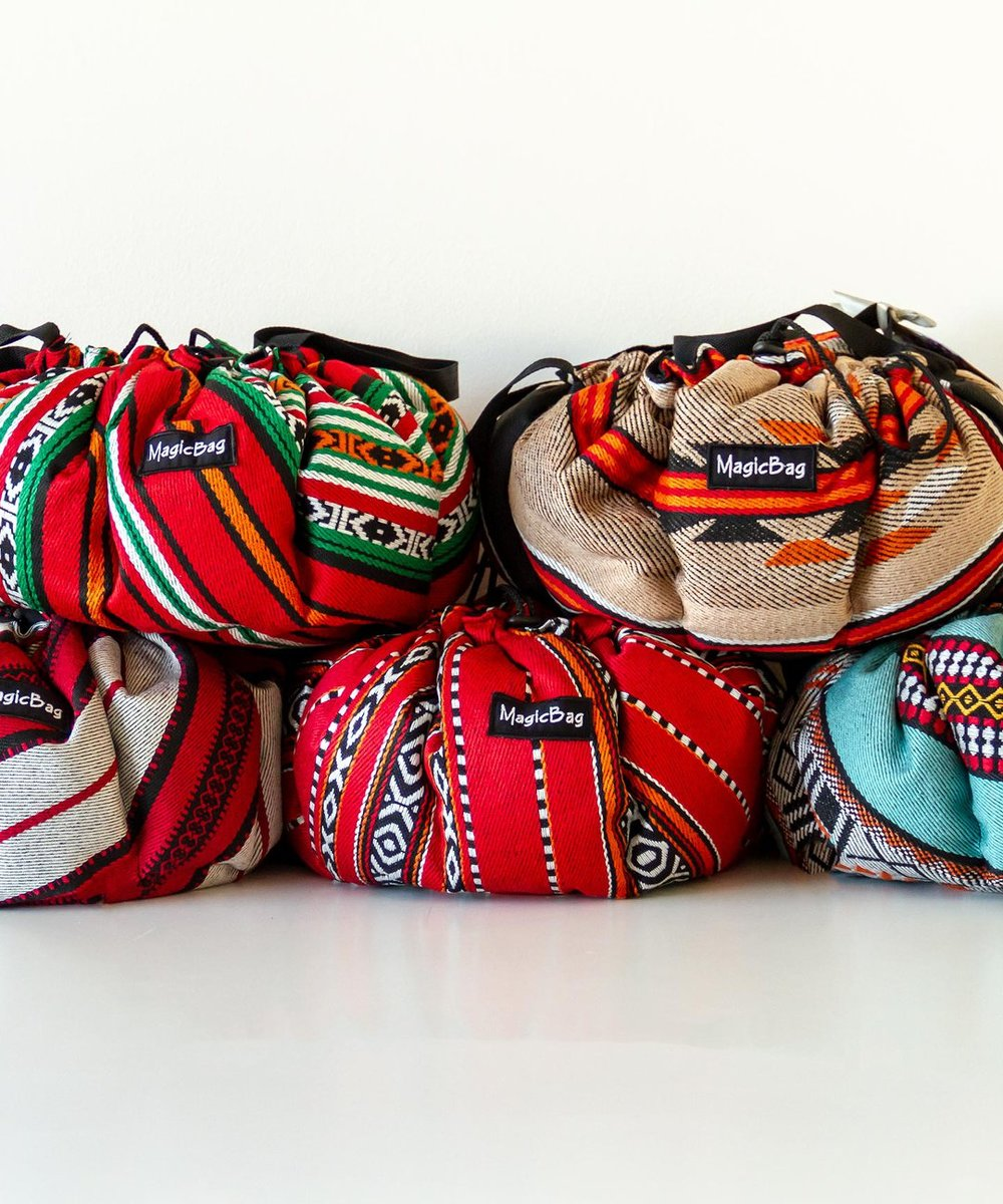 Cooking Bag in Traditional Bedouin Patterns, Small