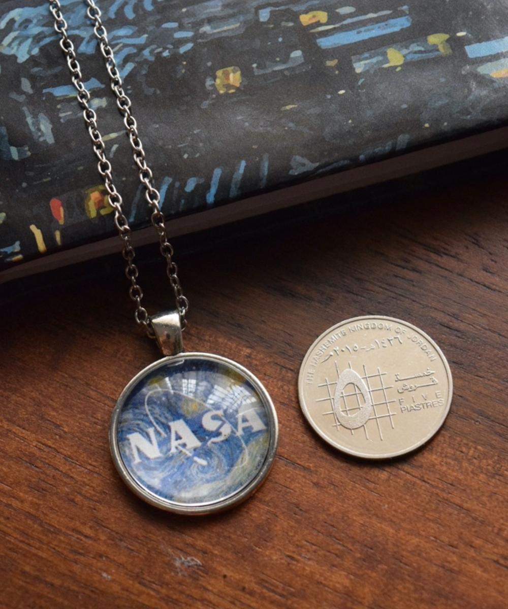 Galactic NASA Necklace
