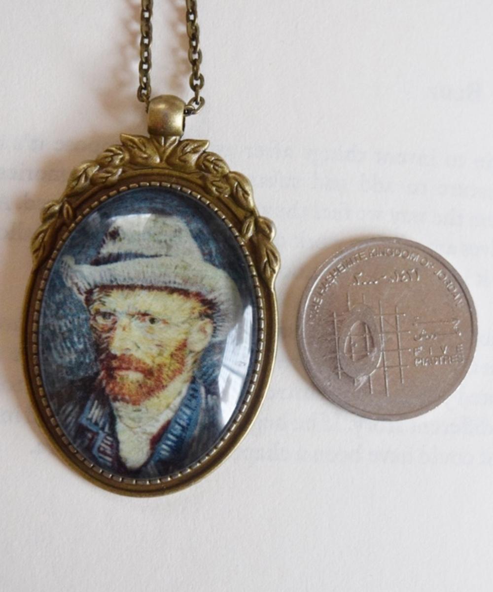 Van Gogh Glow in the Dark Necklace