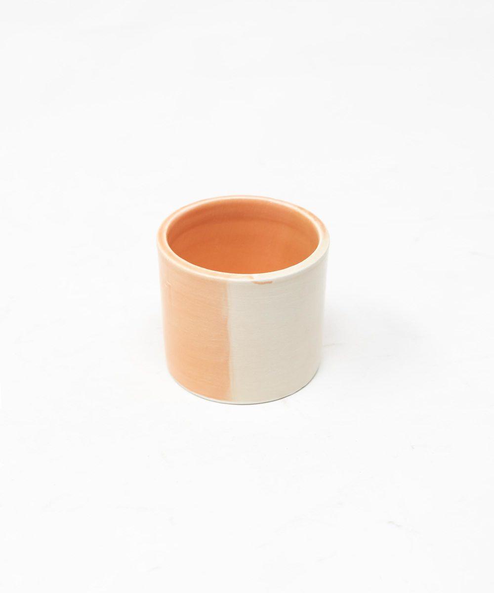 أكواب شاي وقهوة (مشمشي وبيج)
