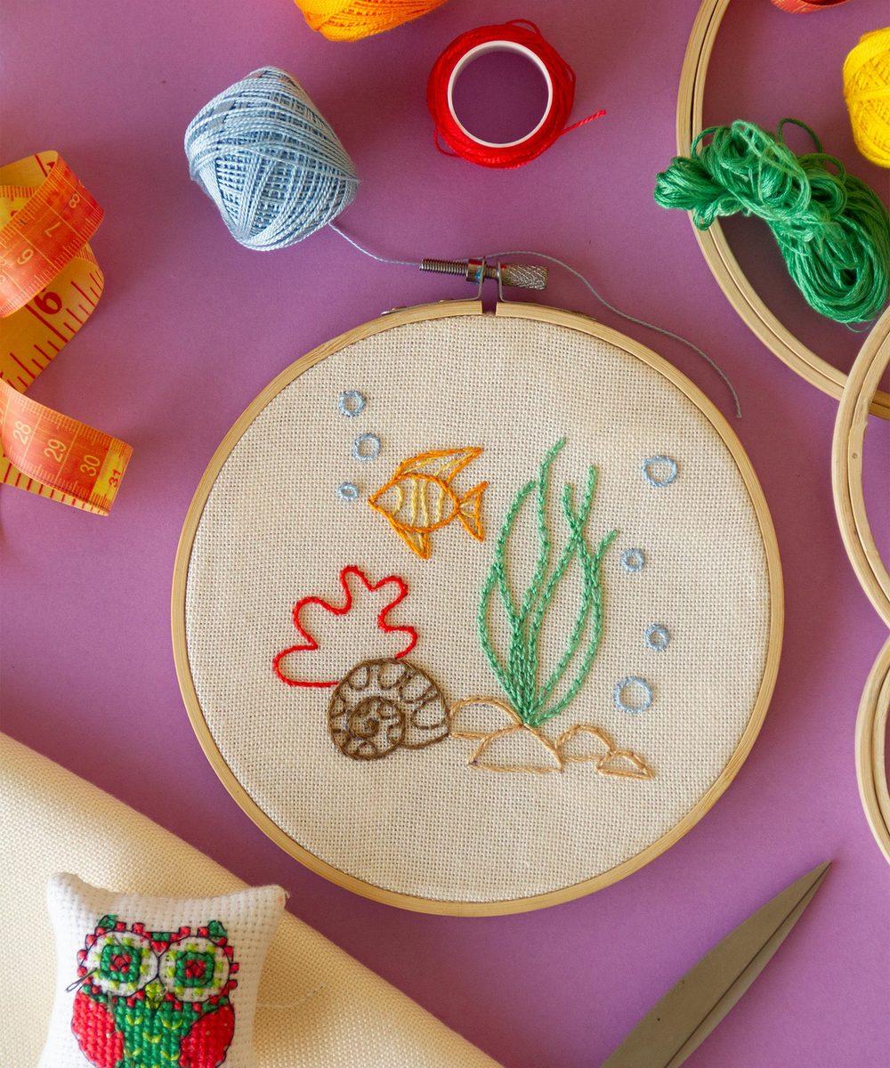 Deep-Sea Embroidery