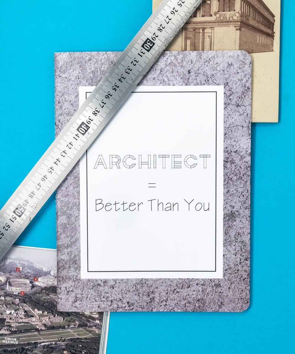 دفتر المعماري - وسط