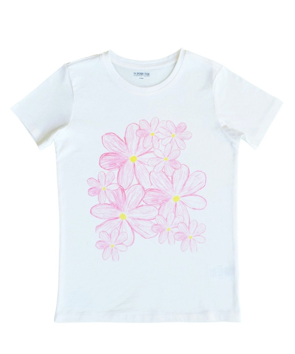 Pretty Pink Flowers T-Shirt