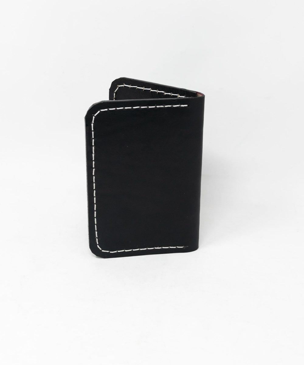 محفظة رجالية - أسود (جلد طبيعي)