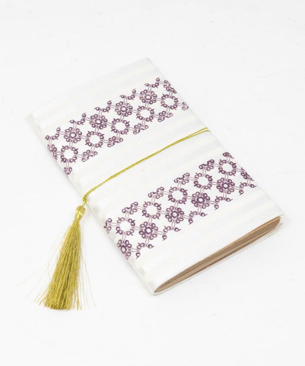 دفتر ملاحظات كبير باللون الارجواني