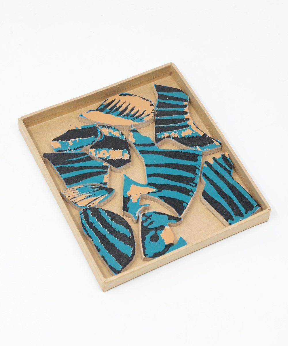 بزِل أطفال شكل سمك السرحاني