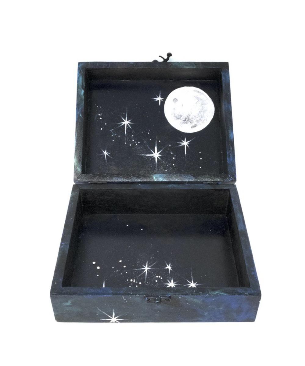 Galaxy box - Large Rectangular (Navy Blue)