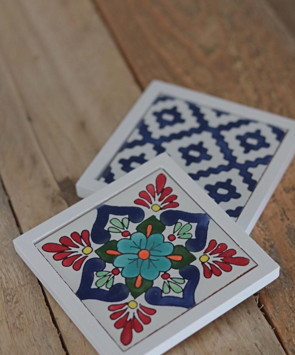 White Table Set