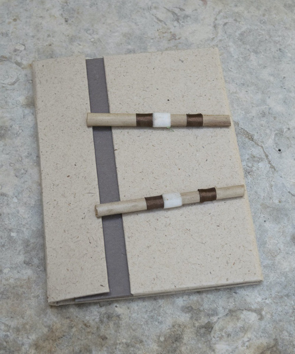 Book with Pages and Two Chopsticks on the Cover
