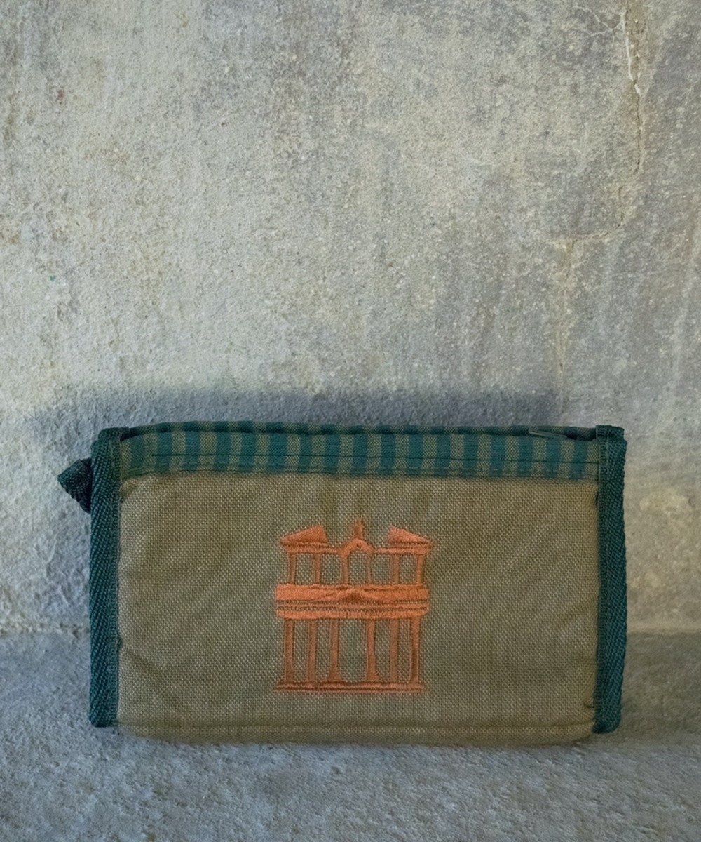 Fabric Pen Case with Petra Design