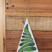 Abstract Christmas Tree Wall Hanging