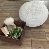 مقعد صغير - رمادي