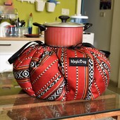Cooking Bag in Traditional Bedouin Patterns, Large