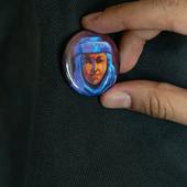 Pin Button: Salt Woman