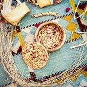 Banana Leaf Basket, Small