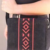 Black Velvet Box Bag