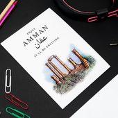 عمان - بطاقة معايدة