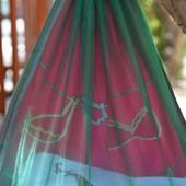 organza and silk underwear organizer - Pink