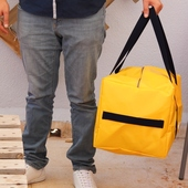 Travel Bag: Yellow