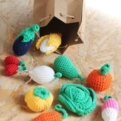 Fruits and Vegetables Play Set