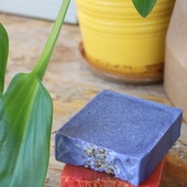 Lavender and Apricot Soaps