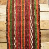 Striped Table Runner: Multicolor