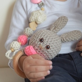 Bunny-Themed Baby Gift Set: Pink