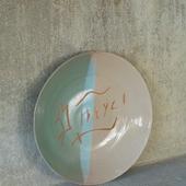 Ceramic Plate (Multiple colors)