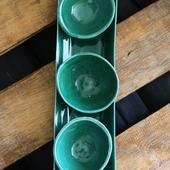 Serving Bowl Set in Green