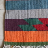 Bedouin-Inspired Carpet: Muted Multicolor