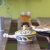 Ceramic Jam Pot