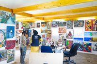 معرض UNHCR\بلومنت زعتري للفن