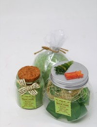 Bathtime Gift Set in Green