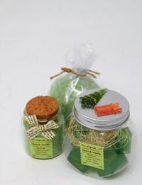 Bathtime Gift Set in Green