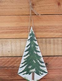 Traditional Christmas Tree Wall Hanging