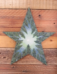 Star-Shaped Forest Wall Hanging
