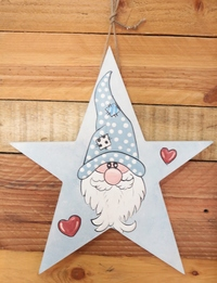 Star-Shaped Dwarf Wall Hanging