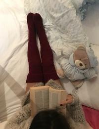 جوارب طويلة (خمري)