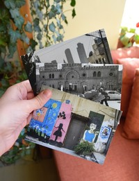 3x Postcards: Amman Theme