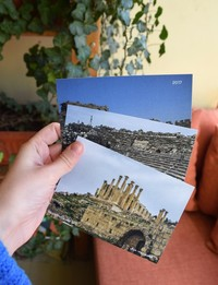 3x Postcards: Ruins