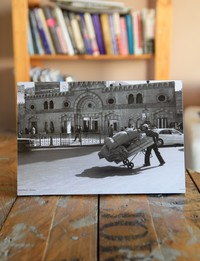 Picture on Wood: Downtown Amman