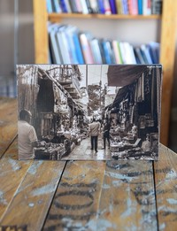 Picture on Wood: Downtown in Salt