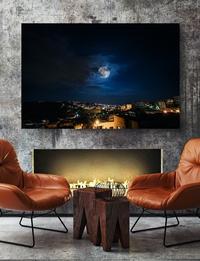 لوحة فوتوغرافية - القمر العملاق