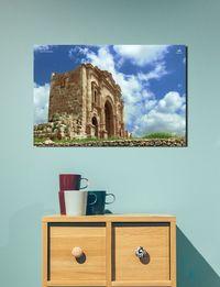 لوحة فوتوغرافية - قوس النصر في جرش