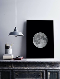 Photographic Art: Full Moon