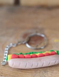 Sandwich Keychain