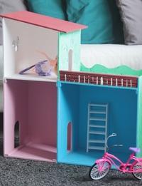 منزل العاب خشبي - صغير