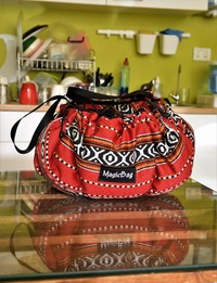 Cooking Bag in Traditional Bedouin Patterns, Medium
